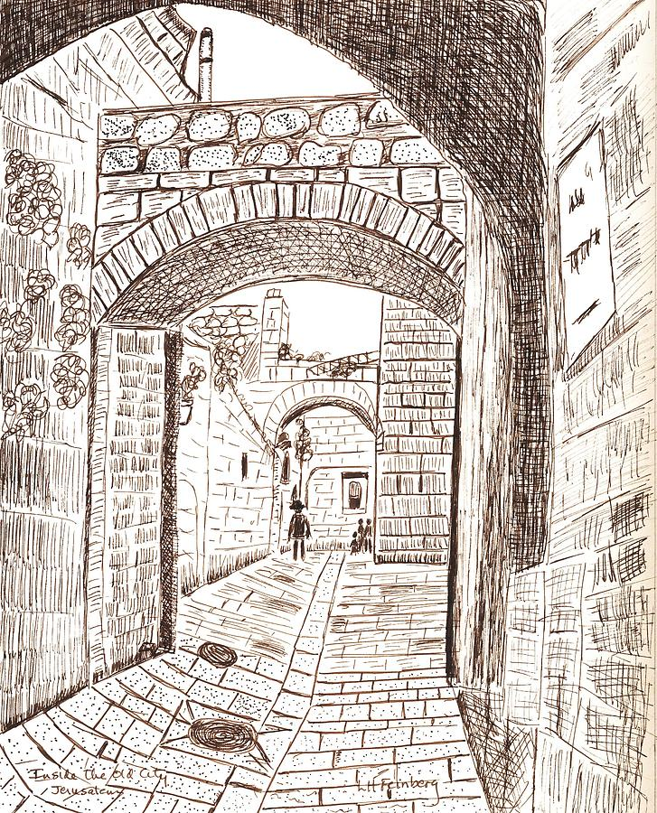 727x900 Inside The Old City