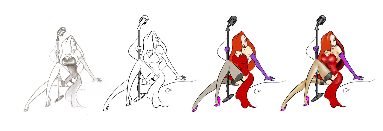 1280x440 Jessica Rabbit By Ladysarena