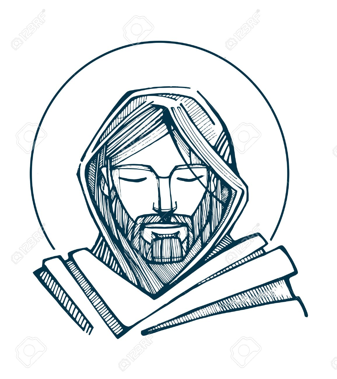 1155x1300 1,455 Jesus Face Stock Vector Illustration And Royalty Free Jesus
