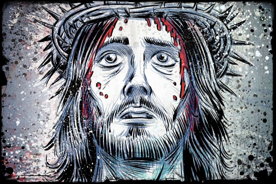 570x380 Jesus Art Print Of Nazareth Christ Christian God Holy Spirit