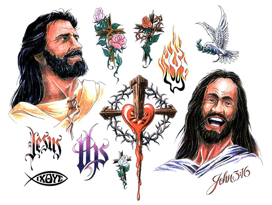 900x679 Scene Haircuts Tattoos Of Crosses With Jesus