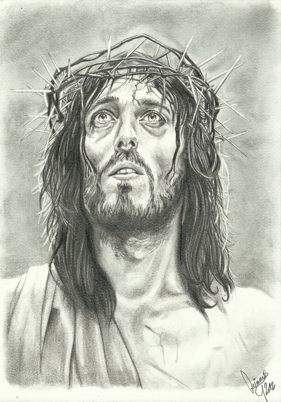 900x1287 Christ By Macguinness