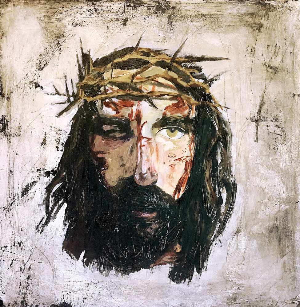 975x1000 Crown Of Thorns, Jesus Christ Painting, Passion Of Christ
