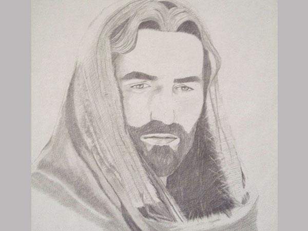 600x450 Crazy Pictures Fabulous Jesus Drawing Pics