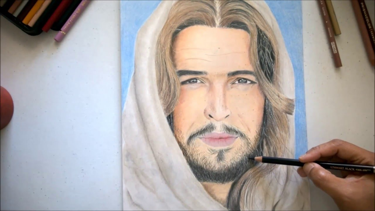 1280x720 Drawing Son Of God Actor As Jesus Christ
