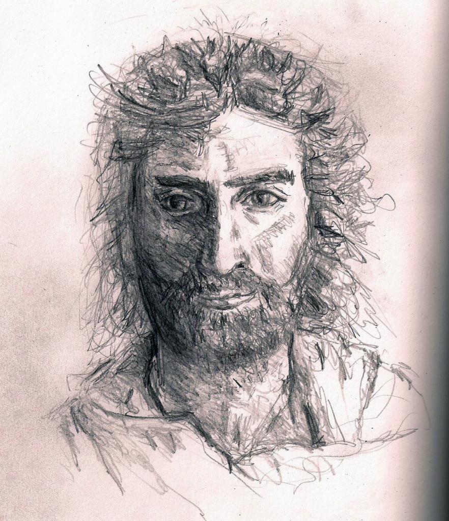 882x1024 Realistic Drawings Jesus Pencil Drawings Pencil Drawings