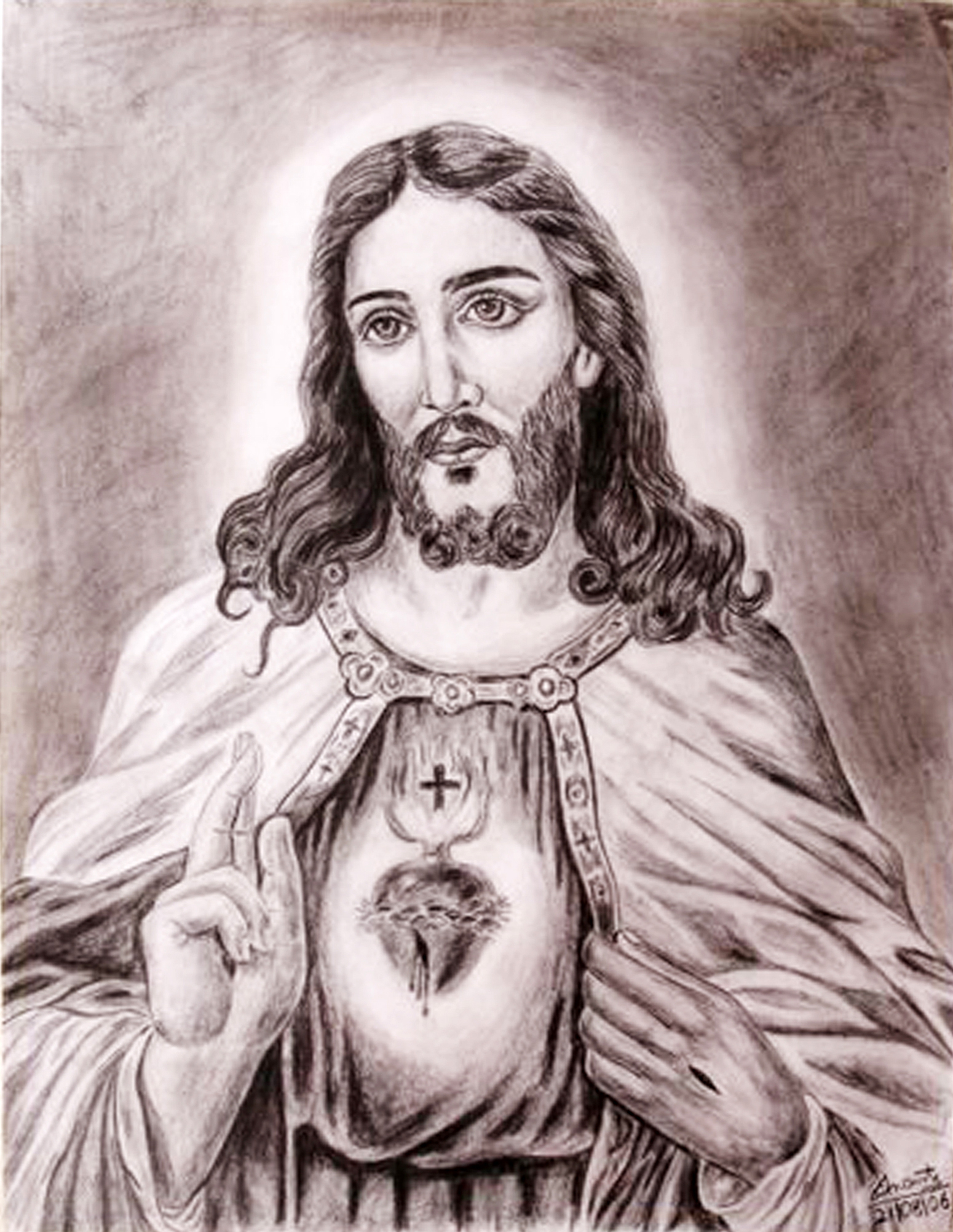 1550x2004 Pencil Drawing Of Jesus Christ Jesus Christ Pencil Sketch