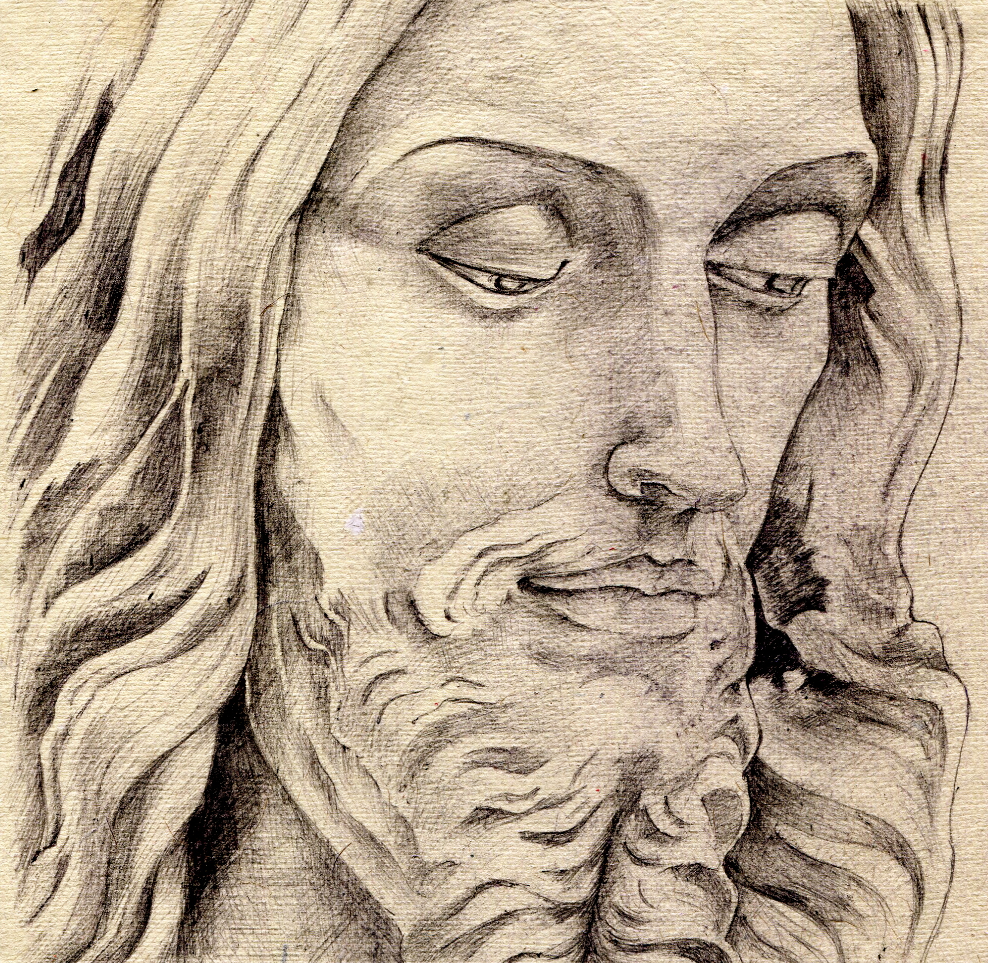 Jesus face pencil drawing at getdrawings free for personal use 1981x1931 pencil drawings of jesus jesus altavistaventures Gallery