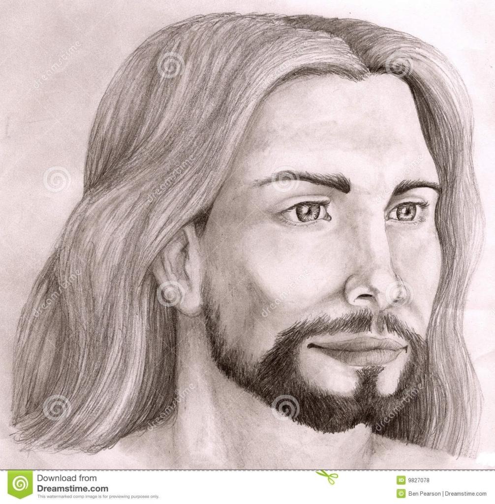 1006x1024 Pencil Drawings Of Jesus Christ Drawing Jesus Pencil Stock Photos