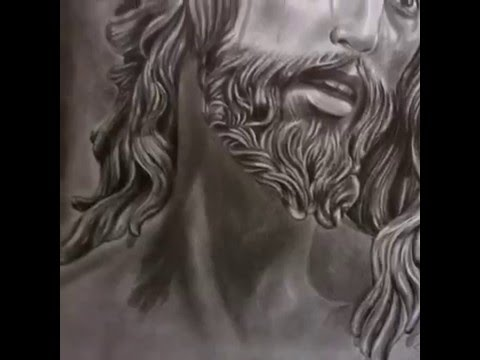 480x360 Jesus Is My Savior Pencil Drawing By Me 2016