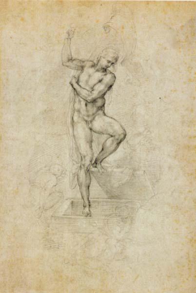402x600 Drawing Basics Michelangelo's Risen Christ And