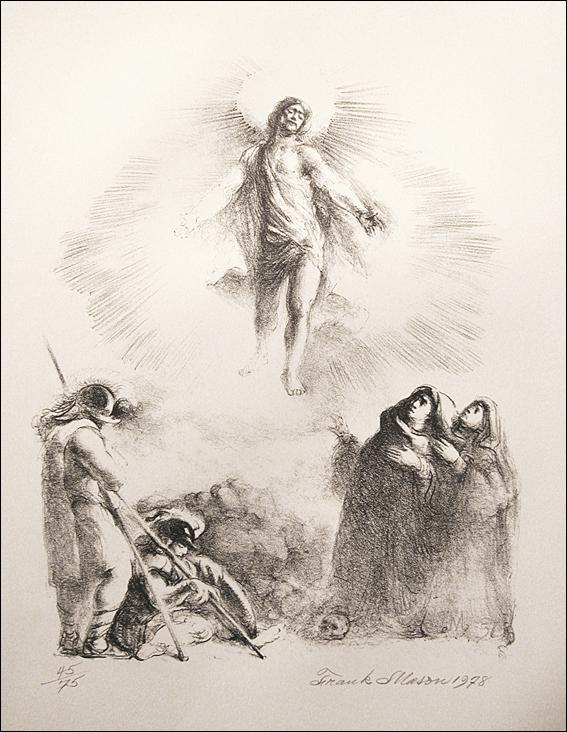 567x732 Paintings Of The Resurrection Of Jesus Christ Frank Mason