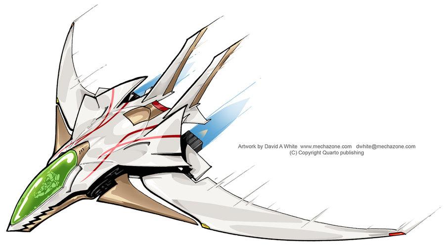 900x505 Lightweight Jet Fighter By Mecha Zone