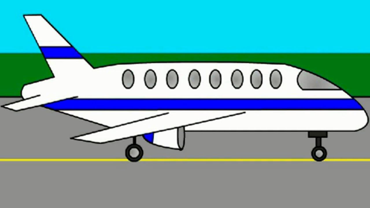 1280x720 Colors For Kids With Helicopter Amp Plane. Cartoons For Kids.