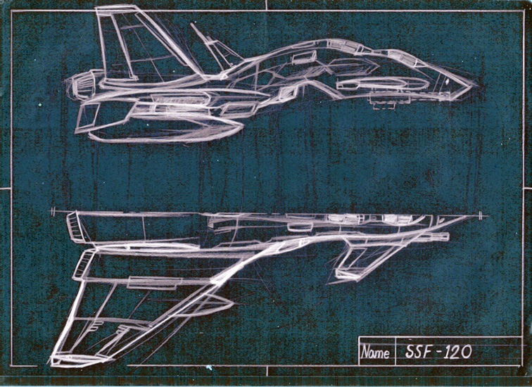 756x550 Space Jet Fighter Sketch By Nzrommel