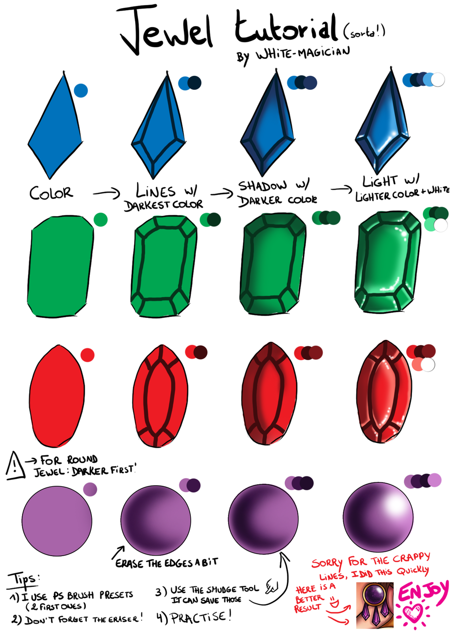 900x1260 Tutorial Jewels By White Magician