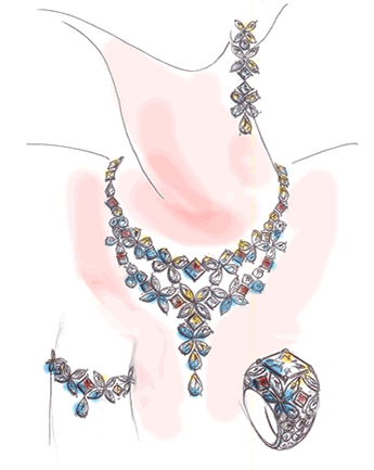 345x433 Jewelry Design Drawing Mozafarian Is Pleased To Work