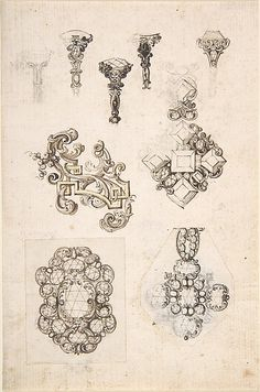 236x356 11 Jewelry Design Drawing Spec Sheets Images