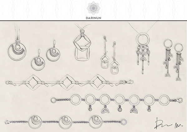 600x424 Jewellery Design Amp Hand Drawn Sketches On Behance