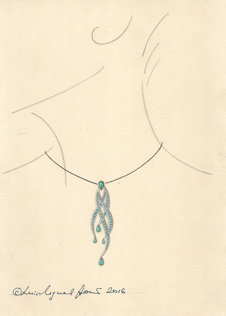 736x1031 151 Best Fine Jewellery Working Drawings Images