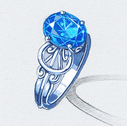 432x428 Drawing For Jewelers Design 101 Creative Side Jewelry Academy