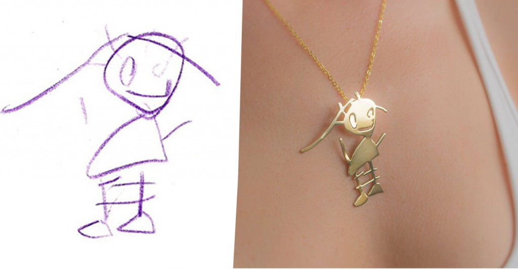 1024x532 They Transform Kid's Drawings In Beautiful Pieces Of Jewelry!