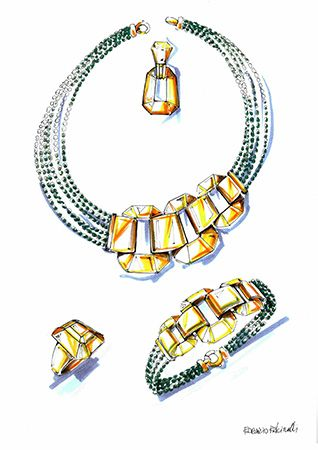 318x450 85 Best Jewels Sketches Images On Jewellery Sketches