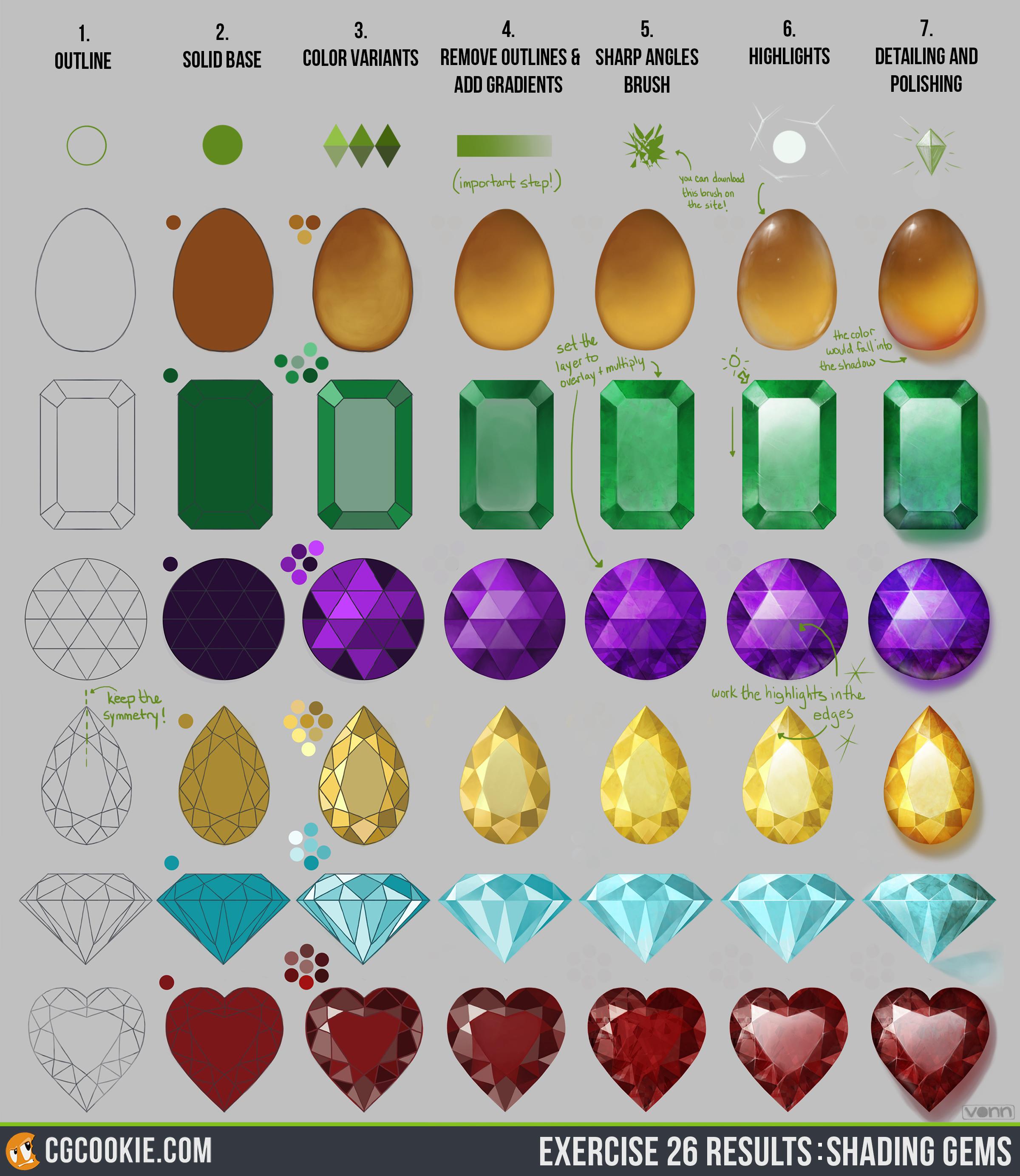 2400x2767 Shading Gems