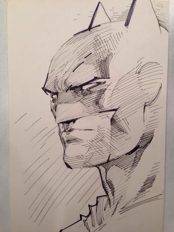 600x800 Batman Sketch By Jim Lee The Unparalleled Art Of Jim Lee