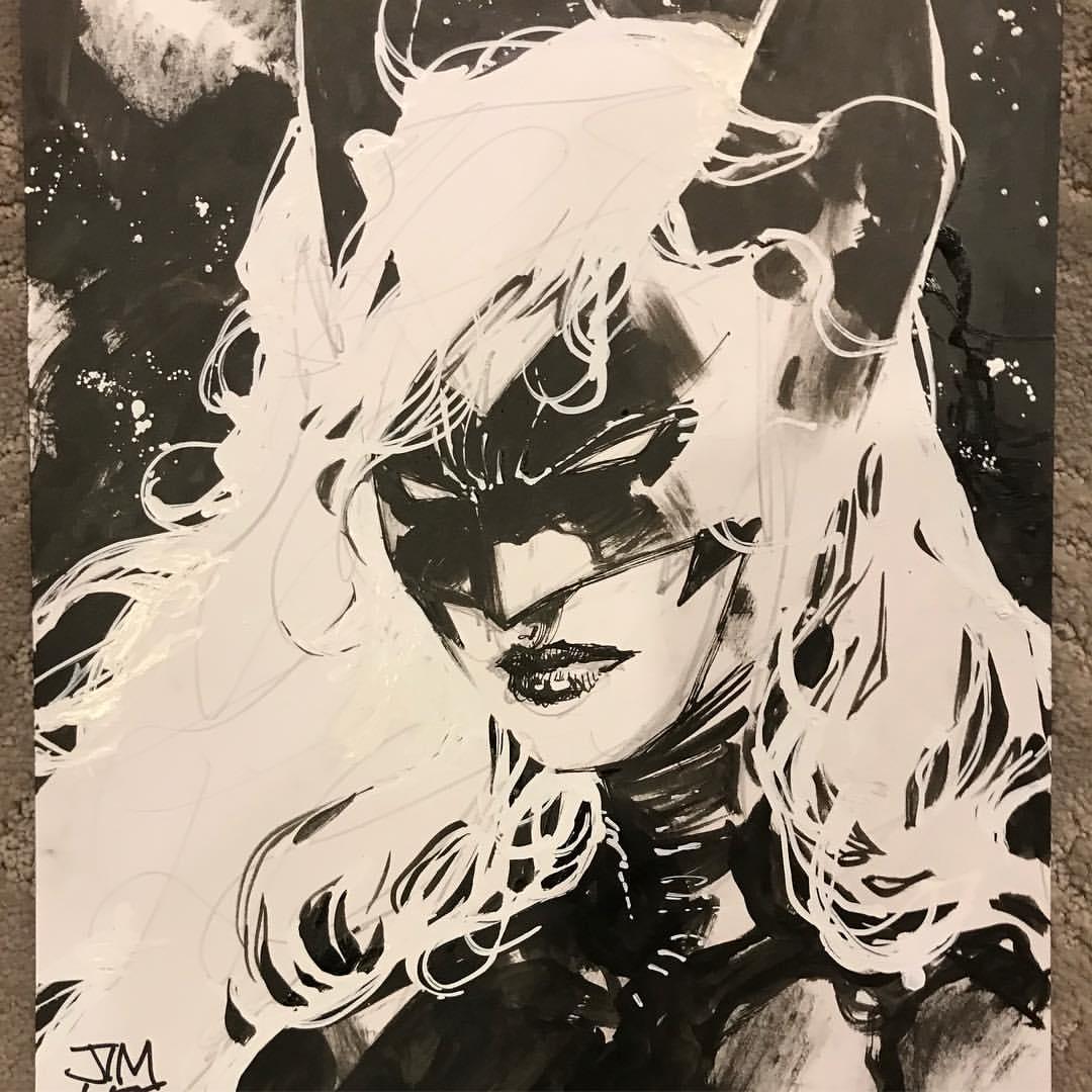 1080x1080 Batwoman By Jim Lee Batman Heroes And Villains