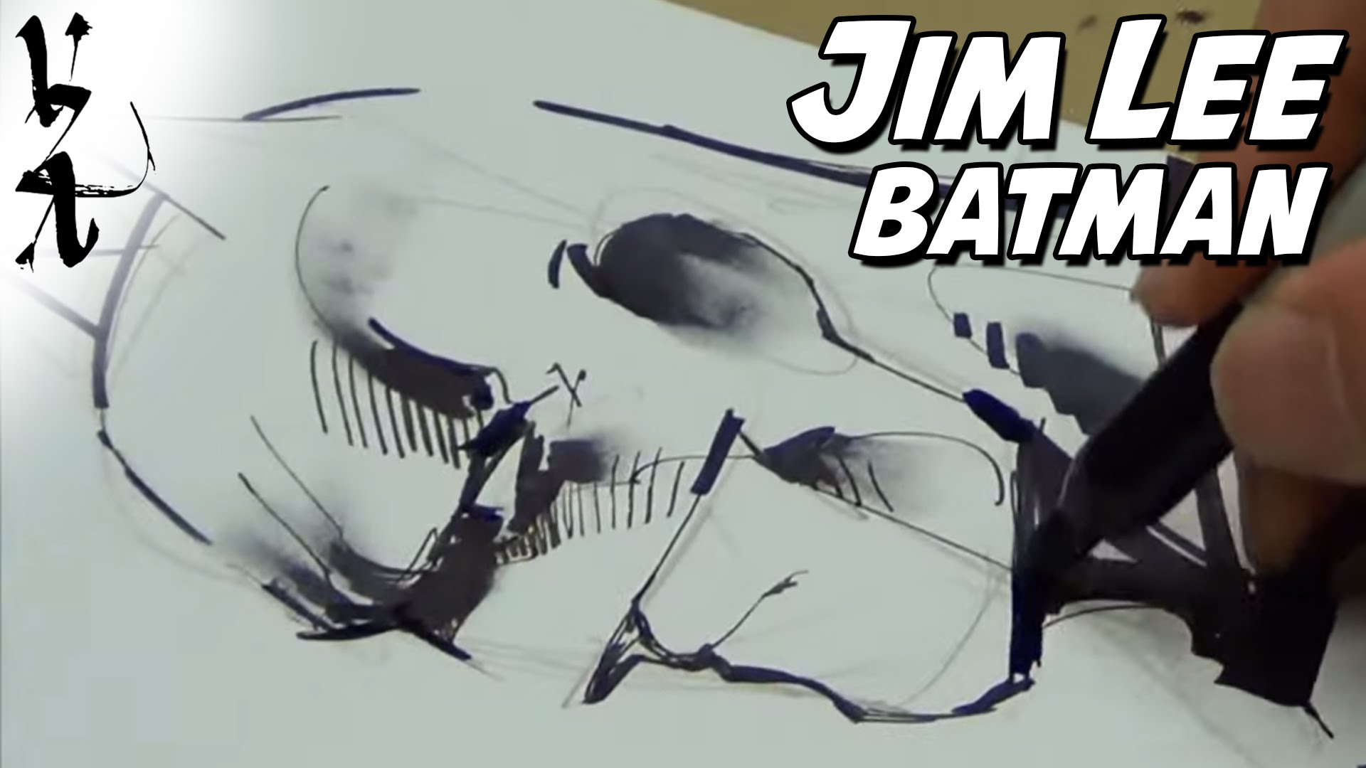 1920x1080 Jim Lee Drawing Batman