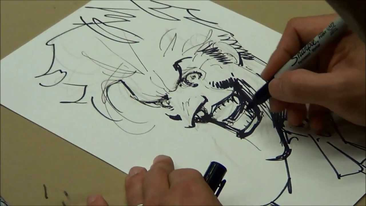 1280x720 Jim Lee Drawing Joker
