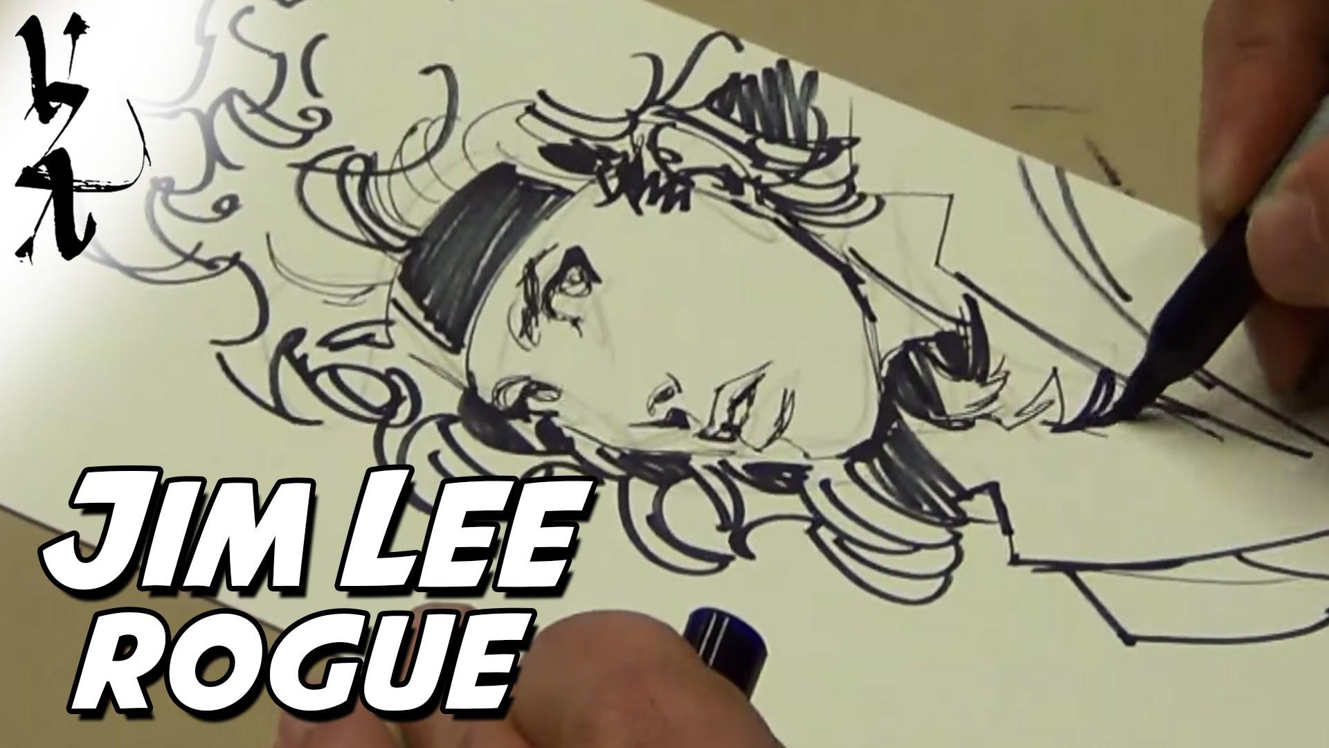 1920x1080 Jim Lee Drawing Rogue