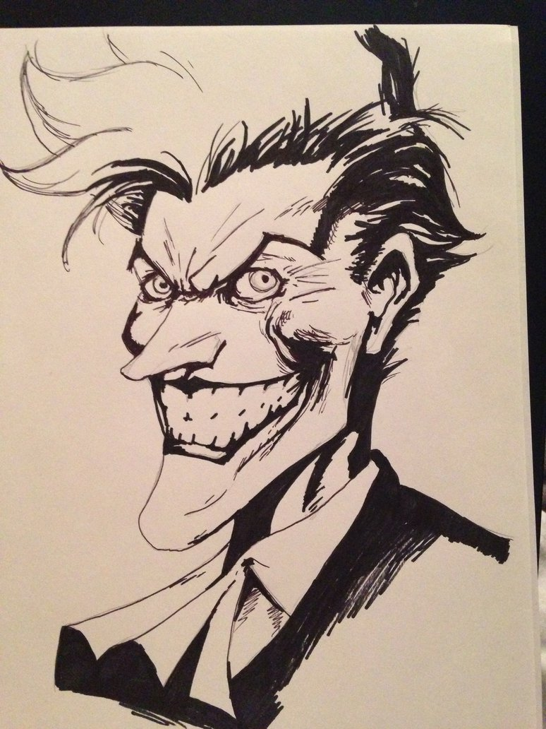 774x1032 The Joker Based Jim Lee By Lladnar23