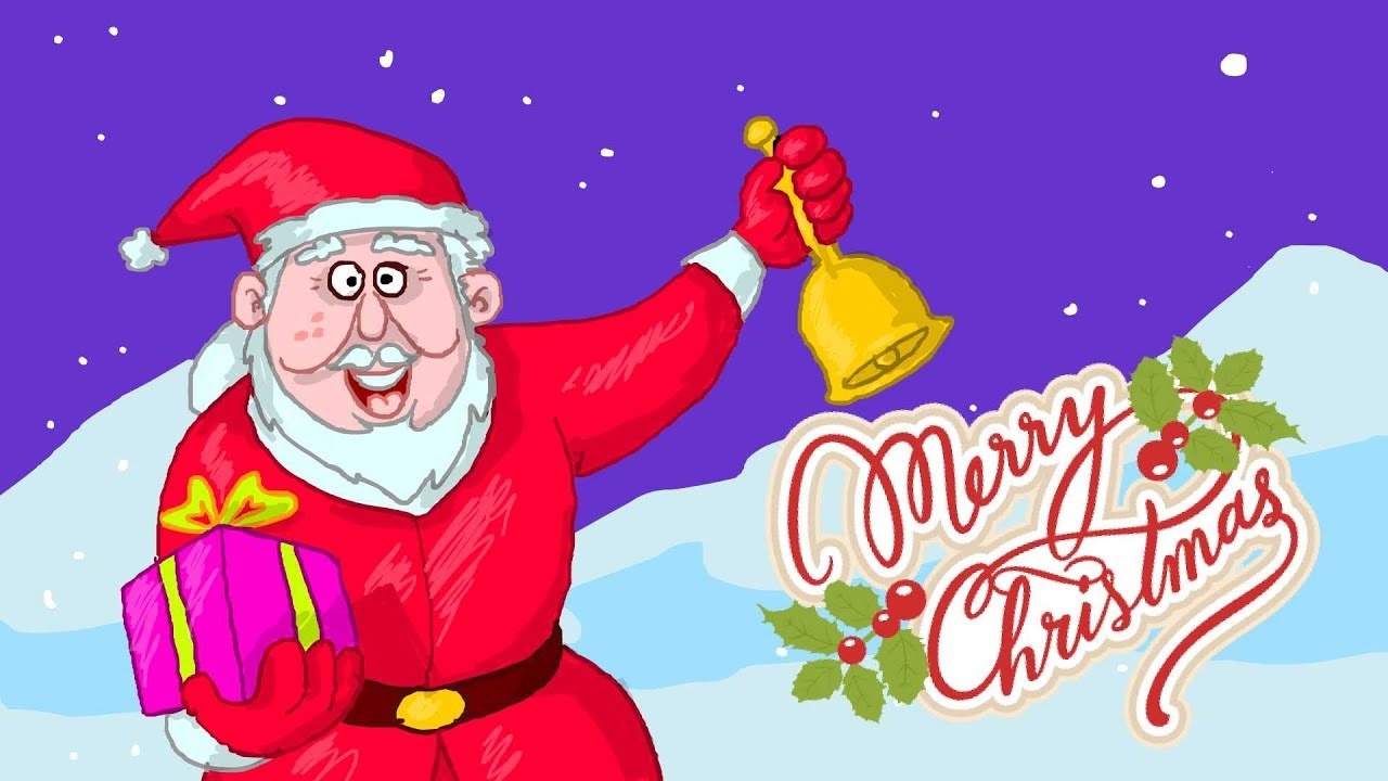 1280x720 Christmas Wishes Spacial Video, How To Draw Santa Claus , Santa