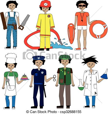 445x470 Jobsnd Professions (Male) He Is Patricknd He Has Got
