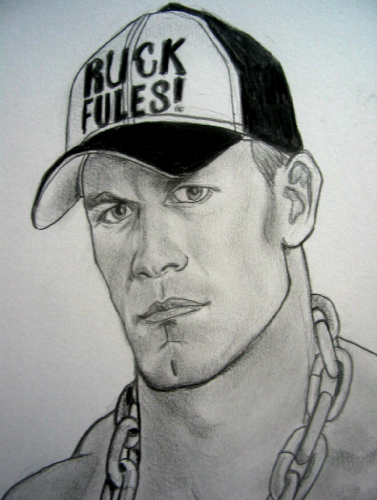 772x1024 John Cena Sketches Pencil Sketch Make John Cena Image Drawing