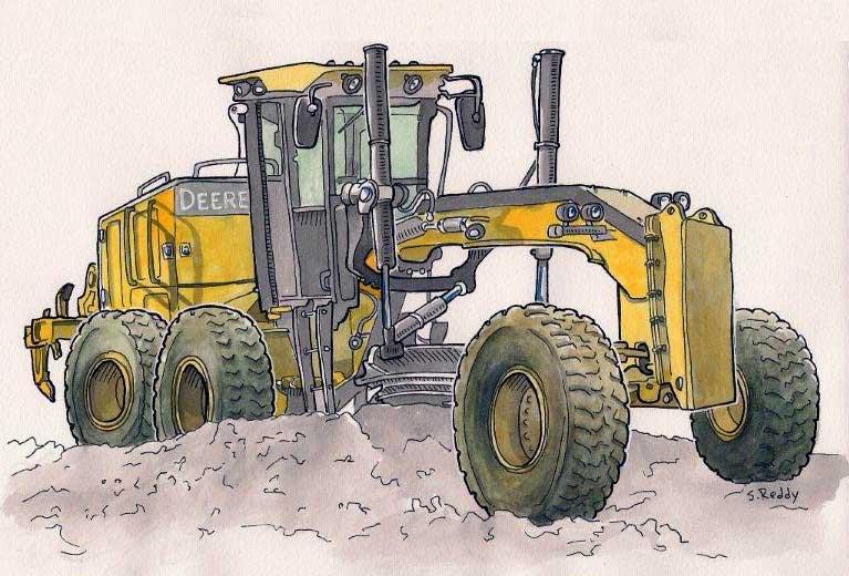 john deere tractor drawing at getdrawings   free download