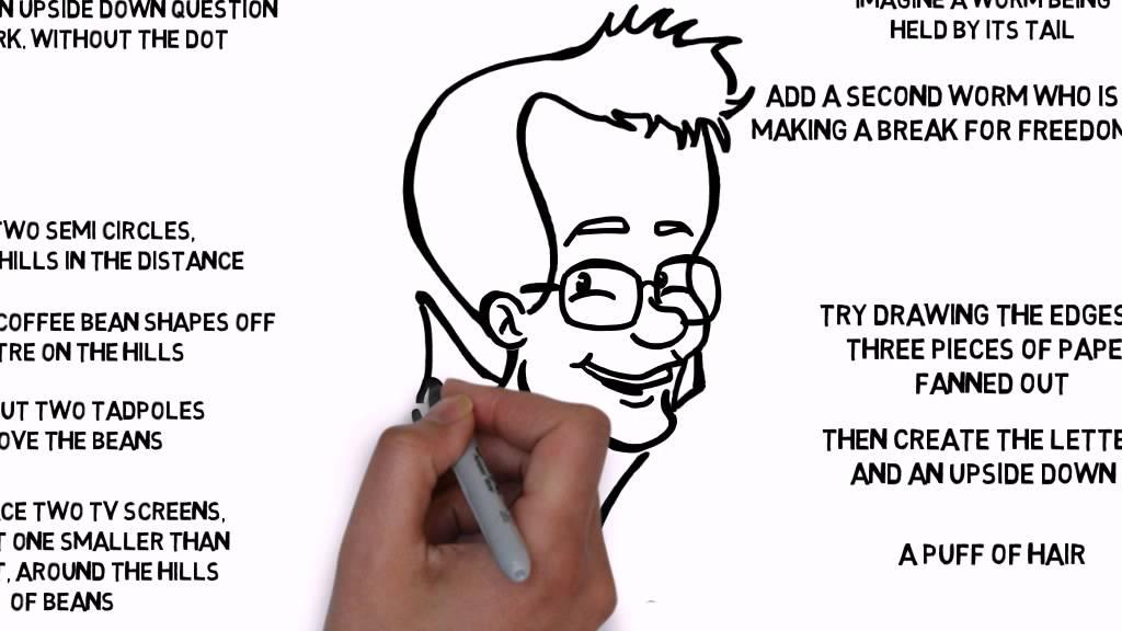 1024x576 How To Draw A Cartoon John Green