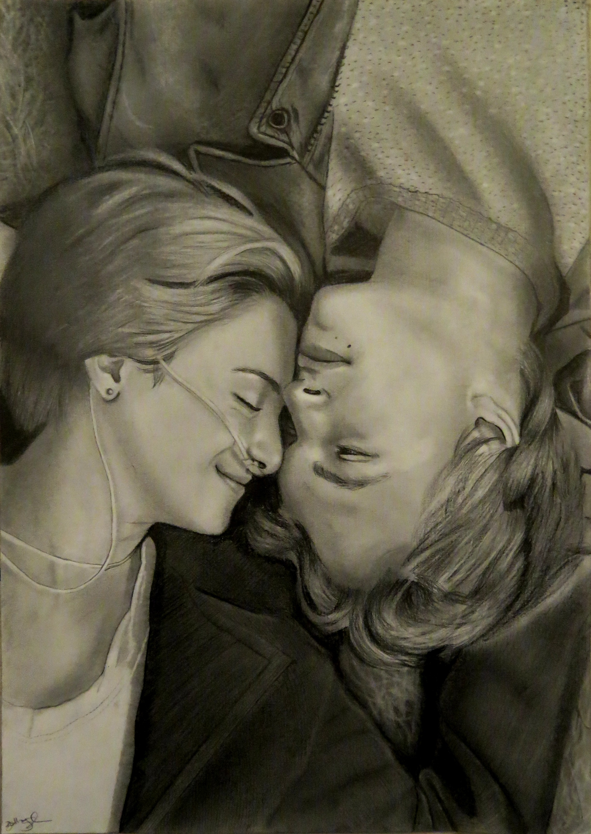 2445x3450 The Fault In Our Stars Drawing Beeminor