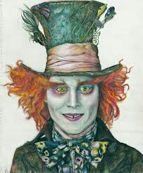 204x247 Mad Hatter The Many Styles Of Johnny Depp Woodburning
