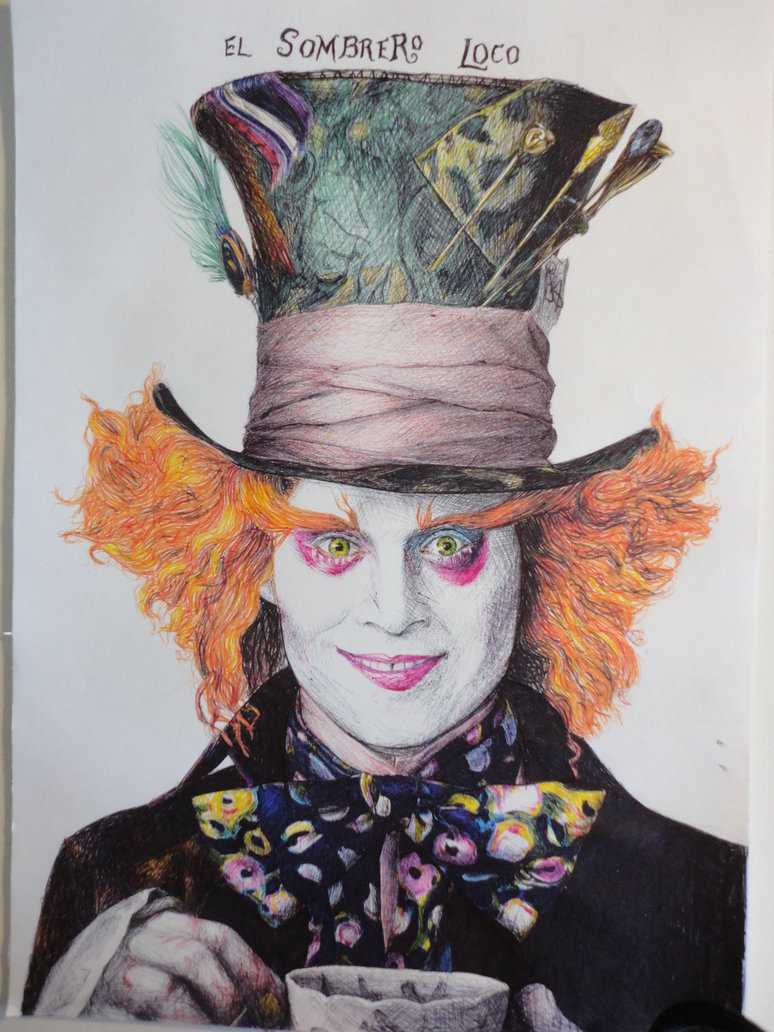 774x1032 The Mad Hatter (Johnny Depp) By Ptothefrigginb