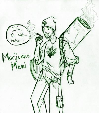 400x457 I'M So High Marijuana Man Weed Art Memes