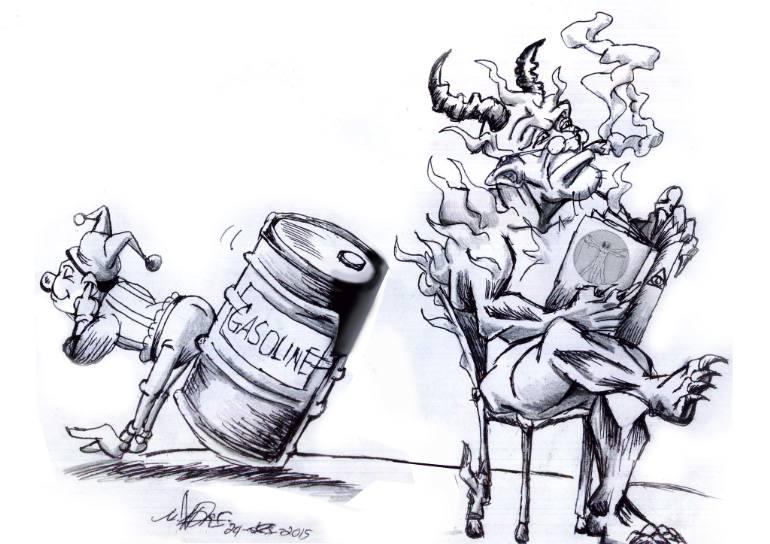 770x544 Saatchi Art Evil,joke And Satire Drawing By Affan Siregar
