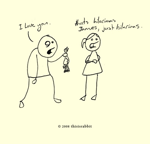 500x480 The Love Joke' An Old Drawing From The Archive