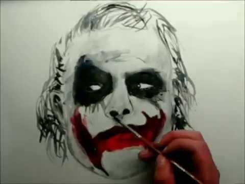 480x360 Dibujando Joker De Batmandrawing Joker Batman