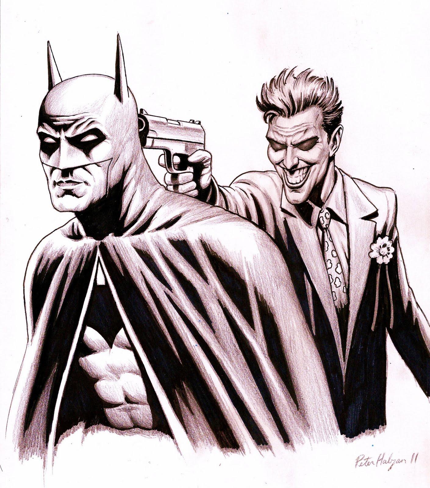 1410x1600 Peter Habjan Art Batman And The Joker