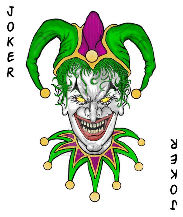 600x713 Joker Card By Jesseallshouse