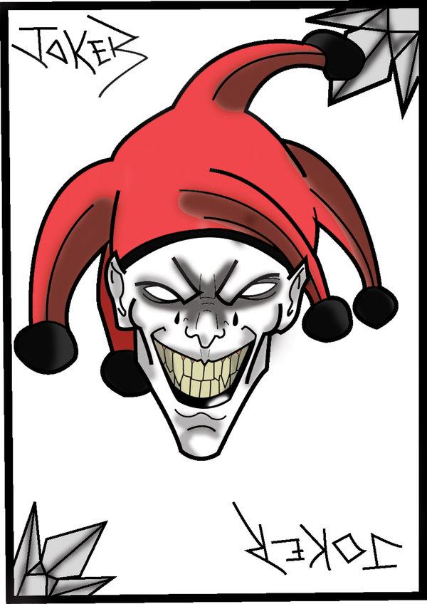 600x848 Joker Card By Blazah