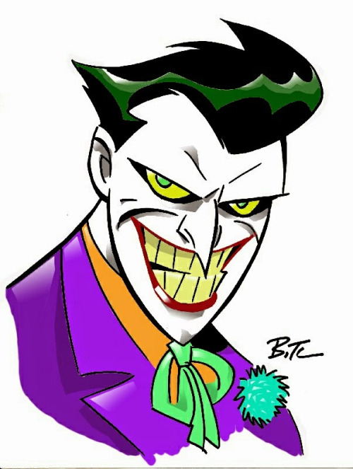 500x663 Batmanthe Animated Series Best Drawn Joker Ever! In My Opinion